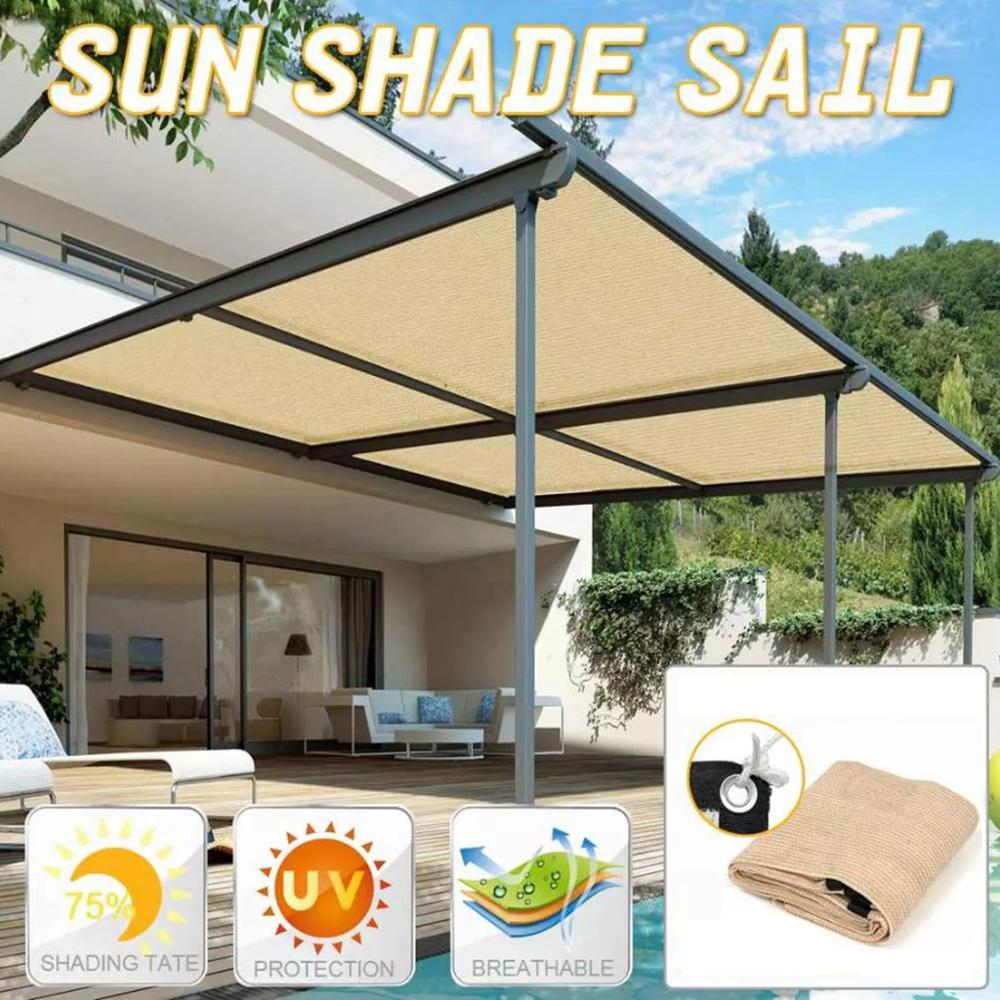 <font><b>Outdoor</b></font> anti-UV awning garden terrace <font><b>car</b></font> sunshade cloth sunscreen cloth sunscreen cloth sunscreen cloth anti-UA shade sail image