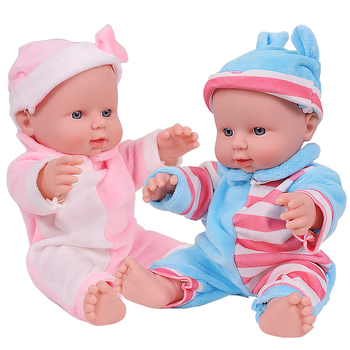 12 inch Bebe Reborn Dolls For Kids Full Silicone Body Baby Doll Lifelike Baby Dolls Reborn For Girl Toys Children Birthday Gift warkings reborn
