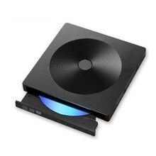 Harici CD sürücü USB 3.0 tip C taşınabilir optik sürücü CD DVD ROM Rewriter burner yazar Windows MAC OS için dizüstü bilgisayar masaüstü bilgisayar