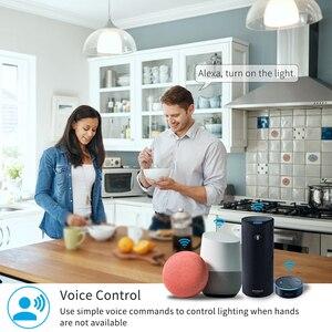 Image 5 - Interrupteur intelligent avec minuterie, contrôlable à distance par application via wi fi, Google Home et Alexa, Module dautomatisation, 10A