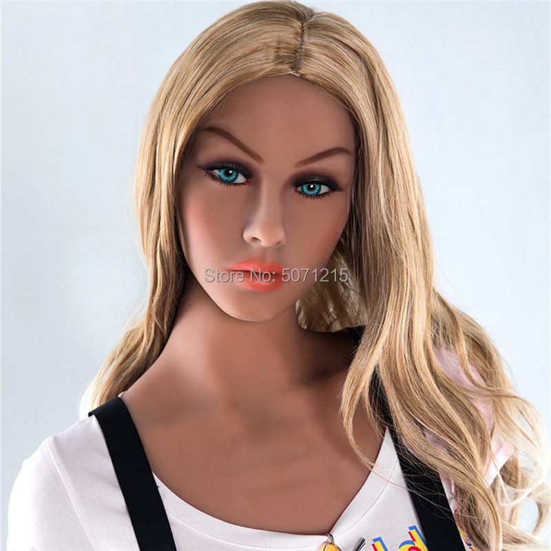 Silicone <font><b>Sex</b></font> <font><b>Doll</b></font> Head Big <font><b>Doll</b></font> Parts Love <font><b>Doll</b></font> Head DIY Show Toy with Wig for Adult Big Size 135-<font><b>176cm</b></font> Real <font><b>Doll</b></font> image