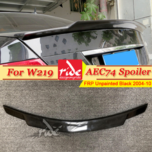 цена на W219 Rear Trunk Spoiler FRP Unpainted C74 Style Fits For Mercedes Benz CLS Class CLS350 CLS400 CLS500 Tail Spoiler Wing 2004-10