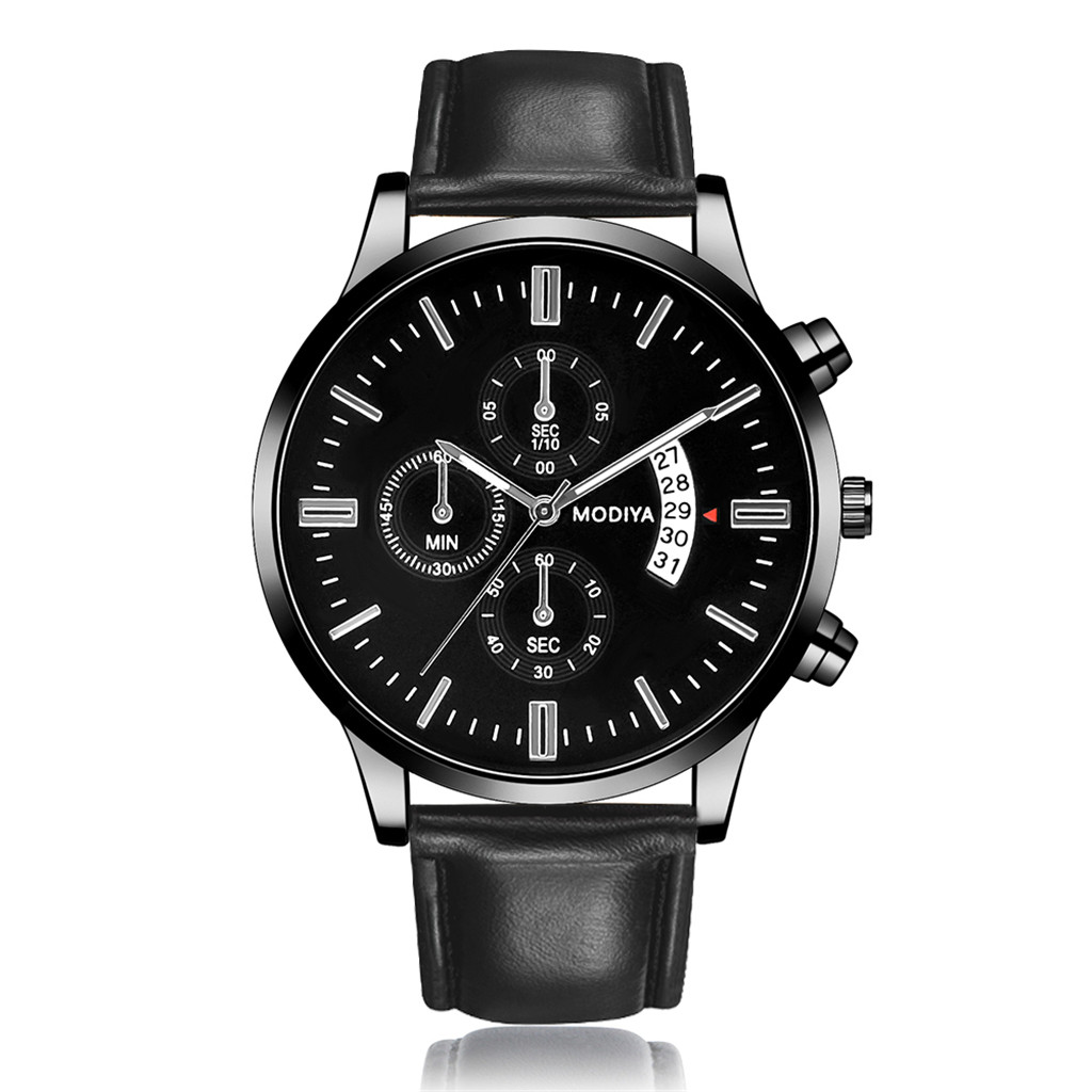Men Luxury Stainless Steel Watch Quartz Business Calendar Wristwatch New relogio masculino curren watch men часы мужские Reloj 6