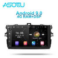 Asottu TO606 android 9.0 PX6 auto dvd gps für Toyota corolla E140 E150 2007 2008 2009 2010 2011 2012 auto dvd radio gps stereo
