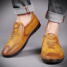 Men's Driving Loafers Shoes Loafers Men Casual Shoes Genuine Leather Men Oxford Leather Shoes Man Loafer Mens Fashion 2020