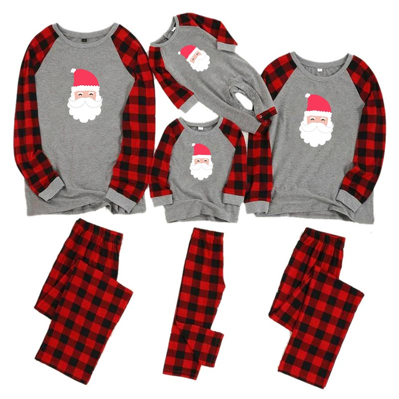 Рождественские пижамы для всей семьи, комплект для мамы, дочки, папы и сына, комбинезон, одежда для сна одинаковые комплекты для папы, мамы и меня одежда для мамы и ребенка - Цвет: color 5