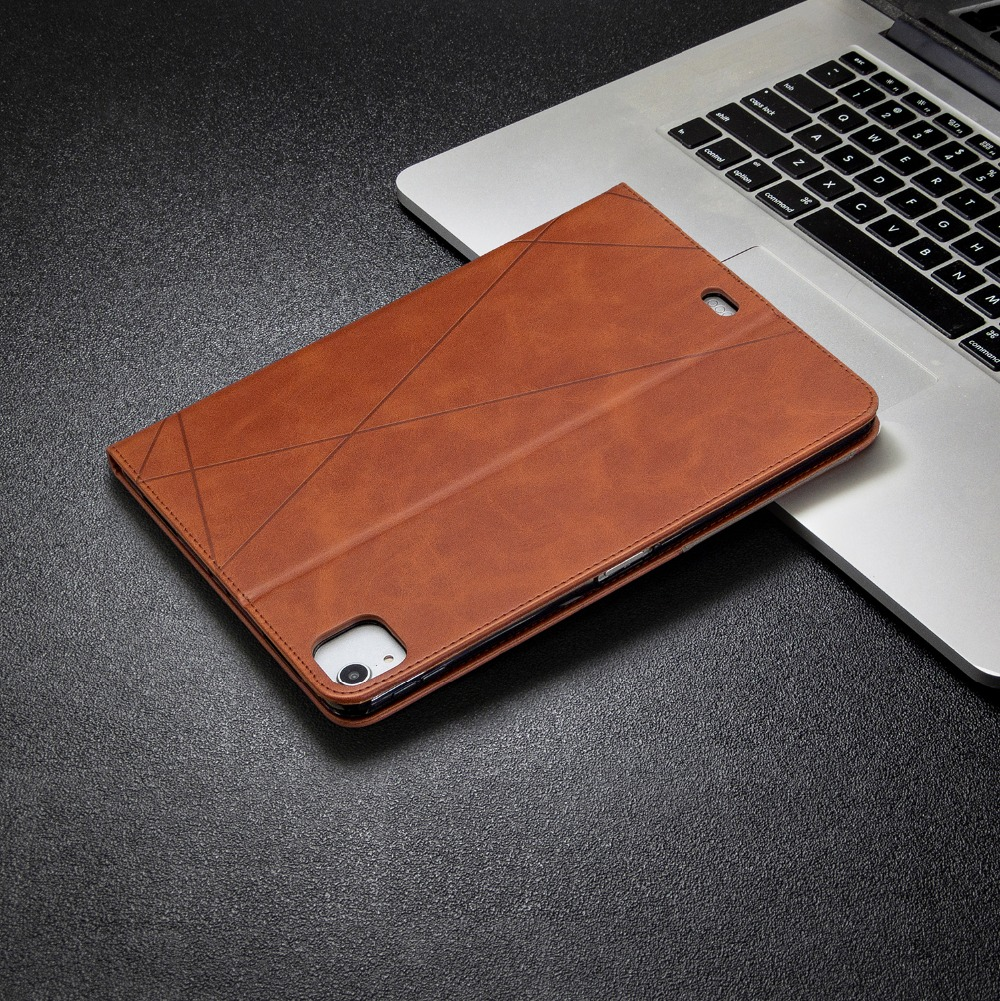 For Leather Silicone 12.9 Cover Holder With 2020 Pro Wallet Back PU Soft iPad 2018 Case
