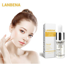 LANBENA Six Peptides Hyaluronic Acid Face Serum Anti Wrinkles Vitamin E Collagen 24k Gold Serum Lift Firming Whitening Skin Care