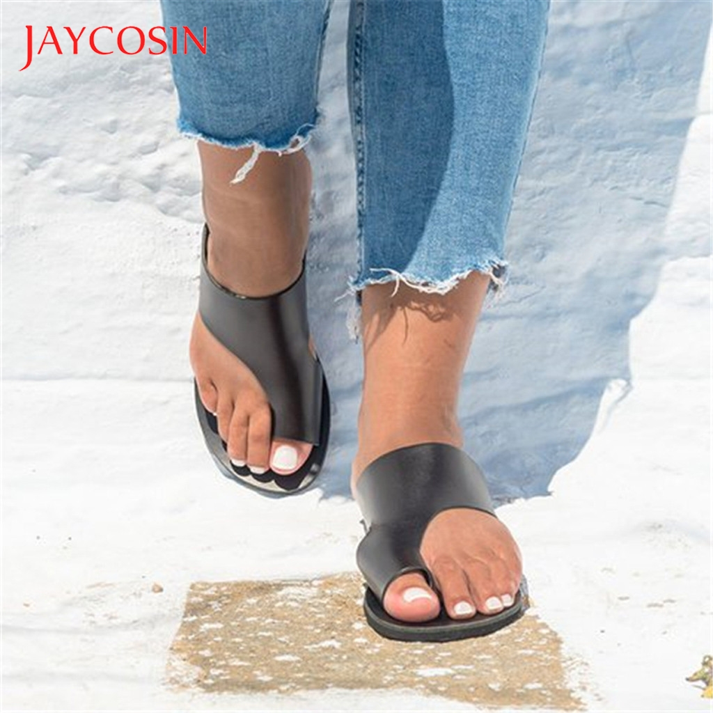 JAYCOSIN Beach Shoes Woman Wedges Open Toe Ankle Roman Slipper Ladies Shoes Casual Summer Women Shoes zapatos de mujer slides 1 1