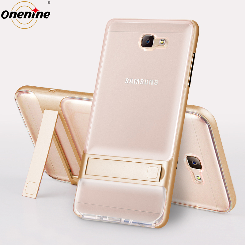 3D Kickstand Phone Back Cover για Samsung J7 Prime Case Cover TPU - Ανταλλακτικά και αξεσουάρ κινητών τηλεφώνων - Φωτογραφία 2