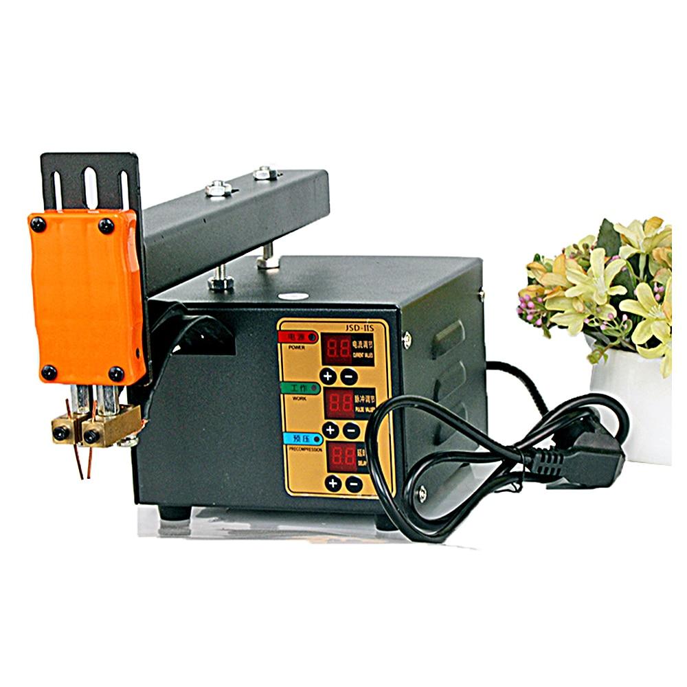 Battery Pack Welding Machine Butt Welding Machine 3KW 0 15      mm       Spot Welder For 18650 Lithium Spot Machine Pulse JSD-IIS