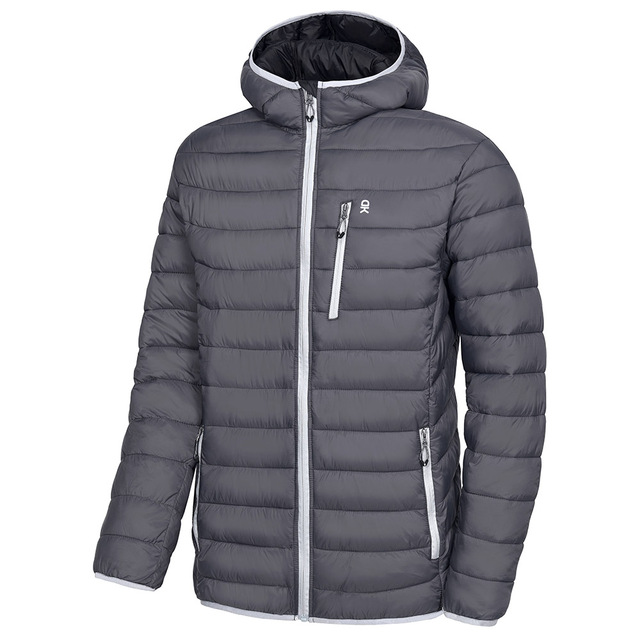 Little Donkey Andy Mens Insulated Running Warm Jacket Thermal Hybrid Hiking Jacket