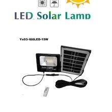solar light lamp floodlight LED Super Bright Weatherproof Outdoor Wireless Security indoor remote timer split cable spotlight sm