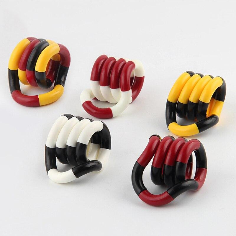 Vent-Toys Decompression-Toy Fidget-Roller Twist-Finger Huilong-Stress Children Torsion-Ring img5