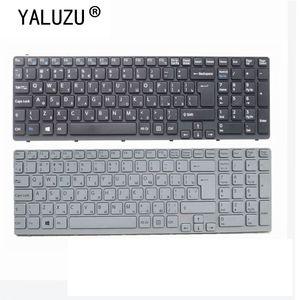 Image 1 - YALUZU clavier dordinateur portable russe pour Sony SVE17 E15 E15115 E15116 E15118 E1511S SVE151MP 11K73SU 920 RU disposition claviers noir