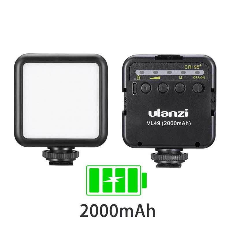 Ulanzi Photographic Lighting 5600K LED Battery-5500k VL49 Vijim Vl81 Mini Vlog 3200K