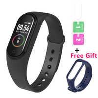 M4 Wristband Smartband Sport Bracelet Flim Watch Heart Rate Monitor Fitness Tracker Activity Blood Pressure Bluetooth Smartwatch