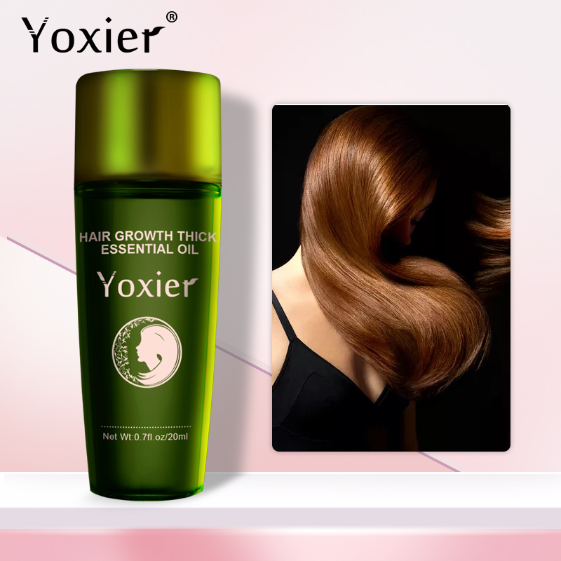Yoxier New Hair Growth Essence Oil Effective Extract Anti Nourish Hair Roots Treatment Preventing Hair Loss Hair Care Products
