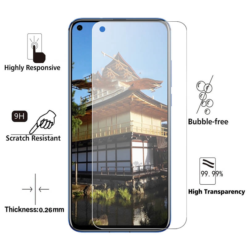 Image 2 - 2.5D Tempered Glass for Huawei Honor V20 View 20 Pro 10 i Screen Protector 9H HD Protective Glass for Honor 10i V 20 Pro Glas-in Phone Screen Protectors from Cellphones & Telecommunications