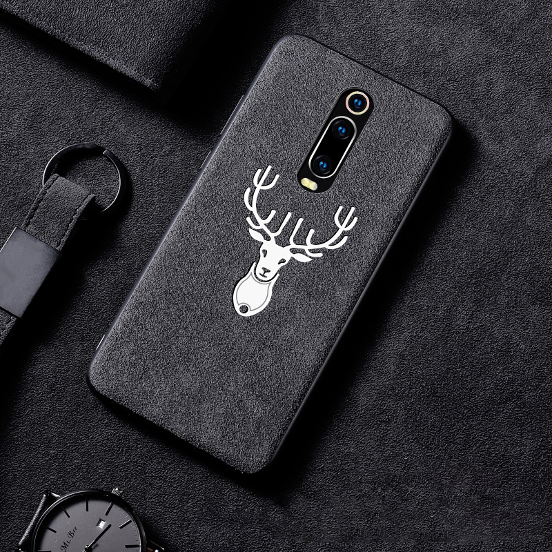 For Xiaomi Mi 9T Pro 9 SE 8 Lite CC9 CC9E A3 Max 3 Mix 2S Redmi K20 Note 10 7 8 Pro Case Suede Fur Soft Leather Shockproof Cover