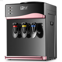 Household Drink Dispenser Three Taps Warm Ice Warm Water Dispenser Drink Dispenser Home Gadgets Water Bottle