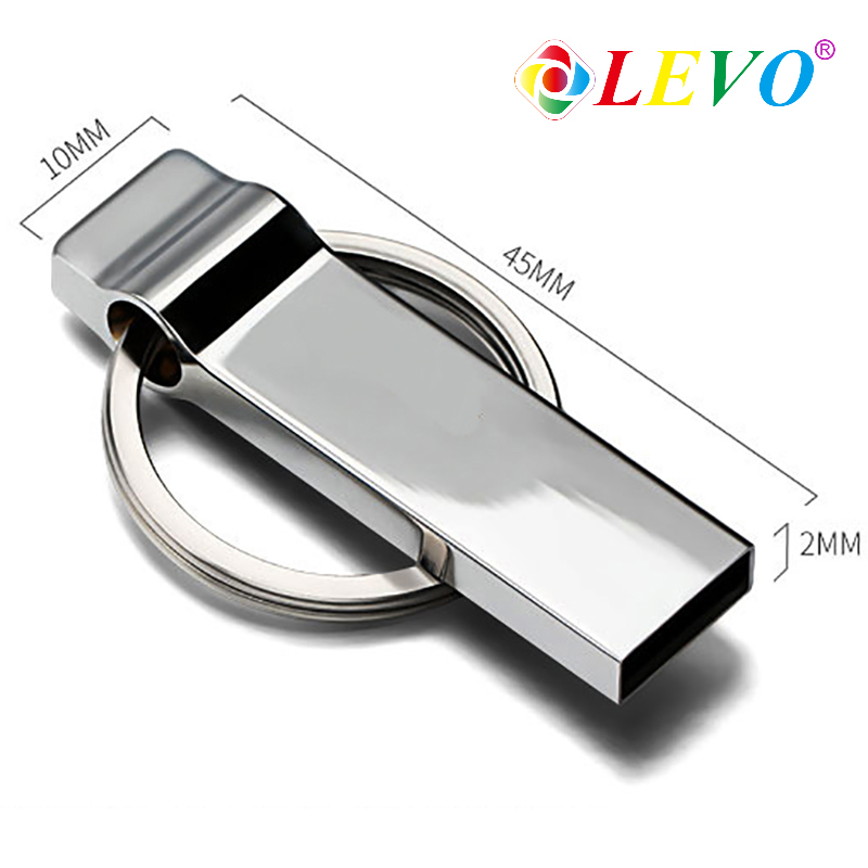 USB Flash Drive Metal Mini Key USB Stick 8GB 16GB 32GB Memory Storage Stick USB Pendrive Flash Pen Drive Memory