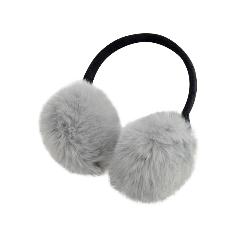 Autumn Winter Rabbit Fur Earmuffs Ears Warm Essential Accessories Fashion Imitation Fur Comfortable Ears Cover