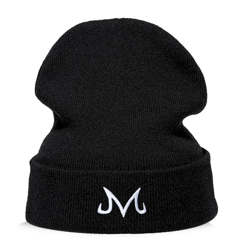 Japan Anime Winter Hats For Woman Little Man's Embroidery Knitted Caps Man Autumn Hat Female Hip-hop Beanie Bonnet Dropshipping
