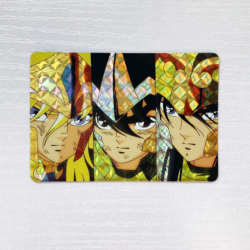 1pcs/set Saint Seiya Sea Emperor Golden Zodiac Toys Hobbies Hobby Collectibles Game Collection Anime Cards Limit Free Shipping