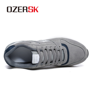 Image 2 - OZERSK Men Causal Shoes 2020 New Autumn Men Shoes Breathable Classic Flat Male Brand Footwear Fashion Sneakers Men Size 36~45