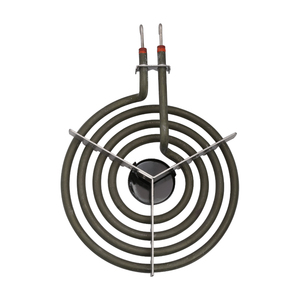 """Image 4 - 1500W 230V 6"""" Range 304 Stainless Cooktop Stove Replacement Surface Burner 4 Rings Pancake Coil Shape Heater Tube with Tripod"""
