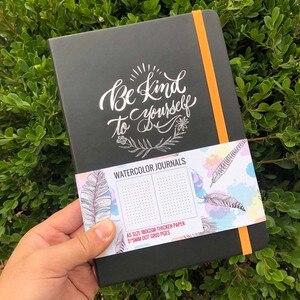 Image 3 - BUKE Dot Gridจุดสมุดบันทึกสีน้ำSketchbook Thickenกระดาษ180GSM 160GSM Dotted160หน้า5X5mm