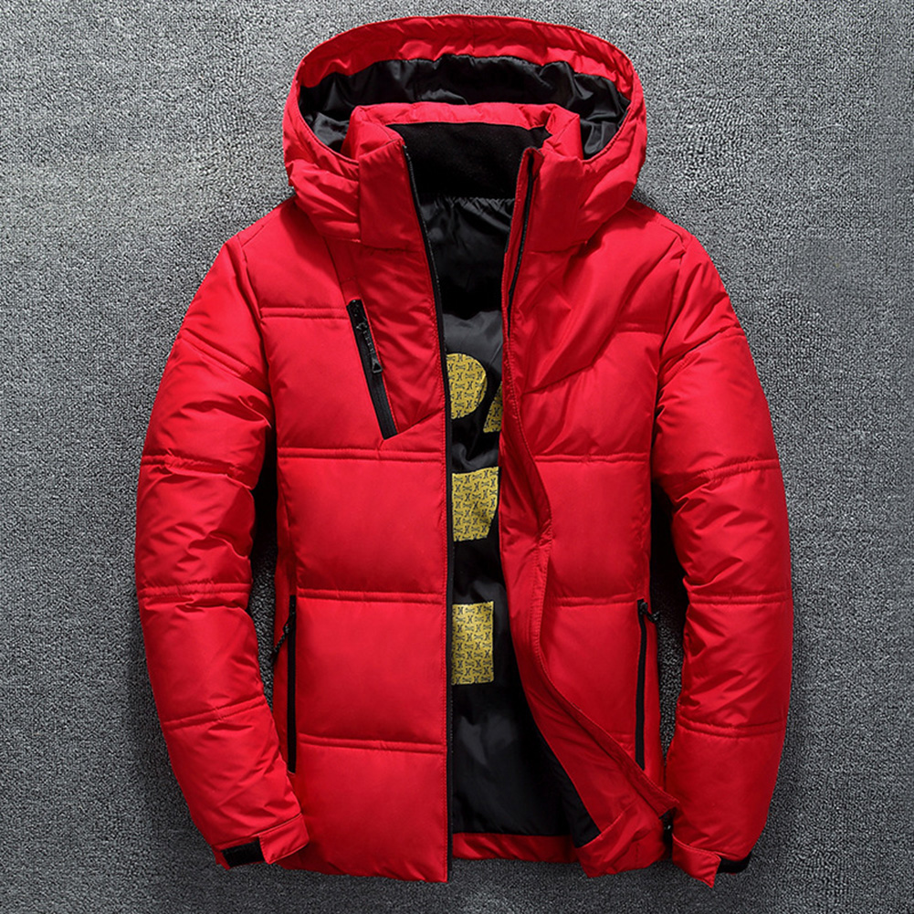 Down Jacket Men's High Quality Warm Casual Thick Coat Parka Men's Slim Warm Outside Down Jacket Christmas Gift Men's Winter Jack