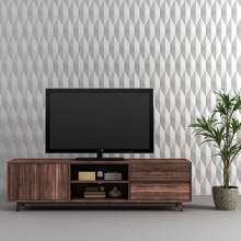 diamond design wall brick silicone mold Cement wall brick