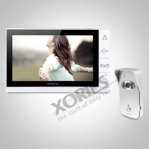 """HOMSECUR Shipping from AU 9"""" Video&Audio Home Intercom with One Button Unlock 1C1M for House/Flat TC021-S+TM901"""