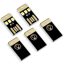 Mini USB Gadgets Light Pocket Card Power LED Night 5V Mobile phone charger Tablet power bank