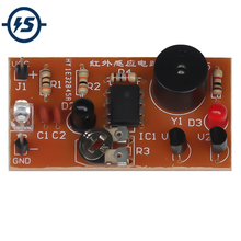 Electronic DIY Kit Infrared Sensor Alarm Electronic Circuit