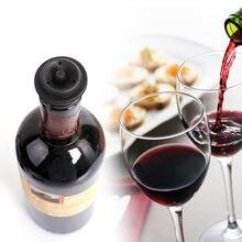 Ensemble d'aérateur de vin en liège, bouchons de bouteille de vin, économiseur de bouteille de vin, bouchons sous vide, conservateur économiseur de Cocktail, barman chaud 1126 6