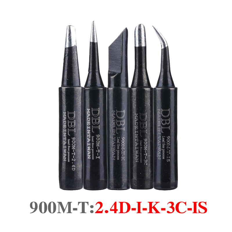 Lead-free Solder Iron Tip Welding Tools 900M-T-K/3C/I/IS/2.4D Soldering Head For Hakko 936 Soldering Station