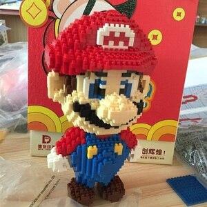 Image 5 - Mô Hình Khối Xây Dựng Mario Bros Yoshi Series Hoạt Hình Juguetes Anime Nhân Vật Lắp Ráp Mini Gạch Đồ Chơi Giáo Dục Cho Trẻ Em