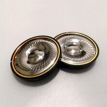 50MM Headphone Drivers 32 Ohm 300 Beryllium Speaker Unit High Resolution 15.5x3 N48 Magnetic DIY 113dB/W