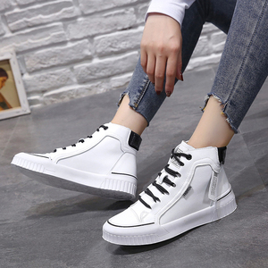 Image 2 - 2019 Fashion Sneakers for Women Breathable Platform Sneakers Women Luxury Shoes Women Designers Womens Vulcanize Martin boots