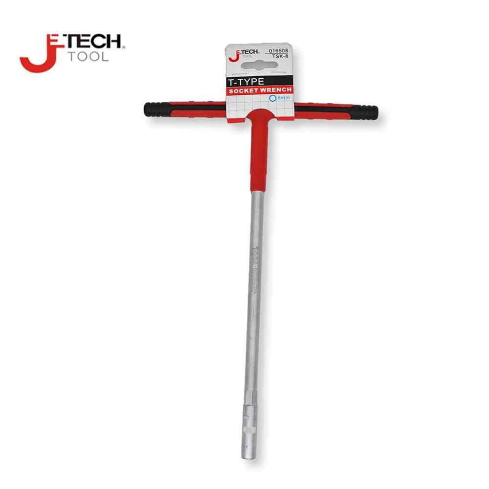 High Hardness Steel T-Handle Hex Socket Wrench Spanner Repair Tools 8-19mm