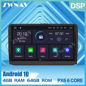 PX6 Android 10,0 автомобильный мультимедийный плеер 2 Din для VW/Volkswagen/Golf/Polo/Tiguan/Passat/b7/b6/leon/Skoda/Octavia радио стерео gps
