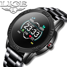 LIGE Smart Watch Men Waterproof Fitness Tracker He
