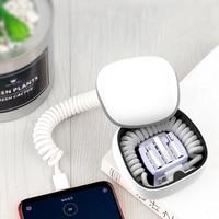 2300mAh Mini Banco Do Poder de Bolso Caixa De Carregamento Do Carregador Do Telefone Móvel para Samsung S8 S9 Powerbank iPhone 8 Plus X XR Xs Max Poverbank