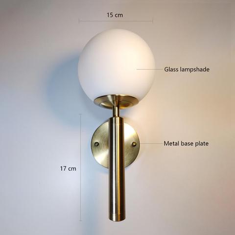 banheiro luz ouro preto moderno lampada parede redonda