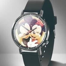 zegarki meskie New Mickey Women Watch Fashion Top Brand Cute Girl Boy