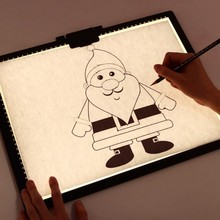 A4 Tracing LED Copy Digital Graphic Board Light Box Portable Ultra-Thin Adjustable USB Power Artcraft LED Trace Pad Drawing