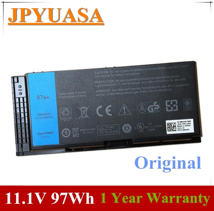 7xinbox 11,1 V 97wh оригинальный FV993 FJJ4W PG6RC R7PND OTN1K5 Аккумулятор для ноутбука DELL Precision M6600 M6700 M6800 M4800 M4600 M4700